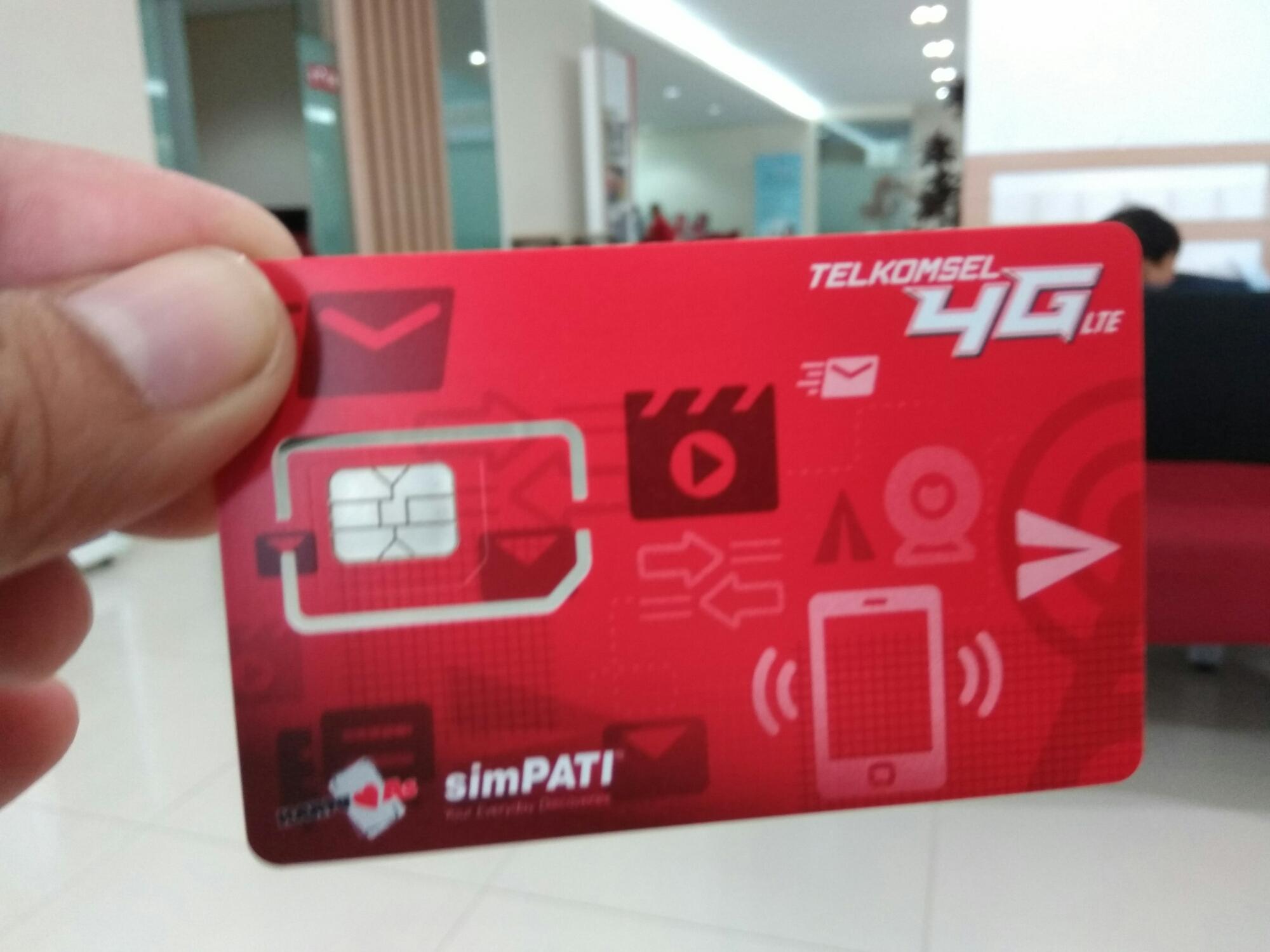 grapari telkomsel malang simcard 4g